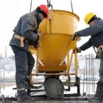 Процесс строительства в зимних условиях