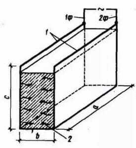 Схема электроразогрева бетонной смеси