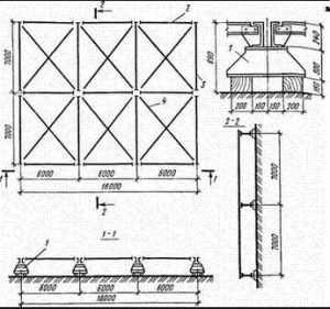 Стеллажи для укрупнительной сборки металлических конструкций