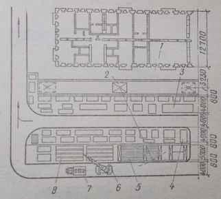 Монтаж крупноблочного здания методом со склада
