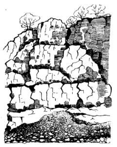 Кубовидная форма залегания гранита